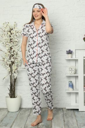 Women's 3-Piece Pajamas Set -