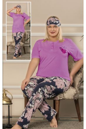 Women's Plus Size Pajamas - 664 Purple