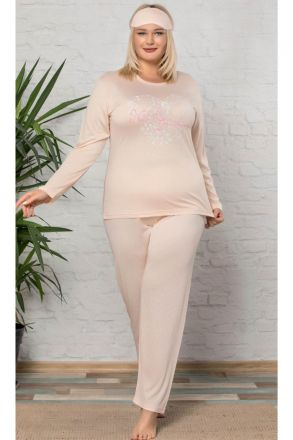 Women's Plus Size 2-Piece Pajamas Set -