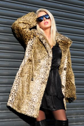 Caper - Women Artificial Fur Coat