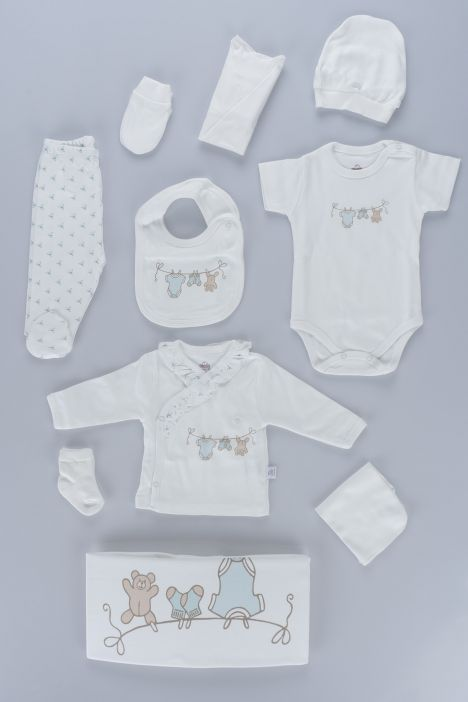 Baby Boy New Born Set 10 Pieces 063125 Mint
