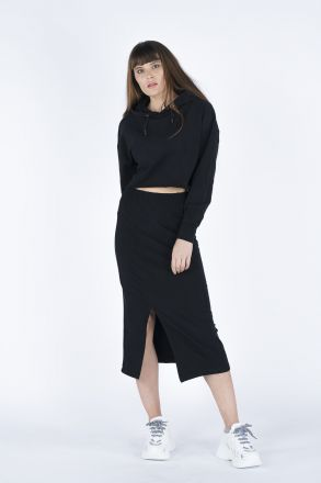 Women's Hoodie-Skirt 2-Piece Set