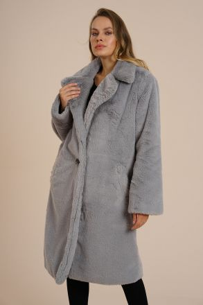 Brooklyn - Women's Exclusive Faux Fur Coat -