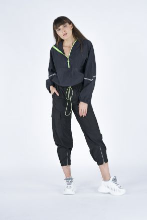 Zippered Women's Tracksuit Pants